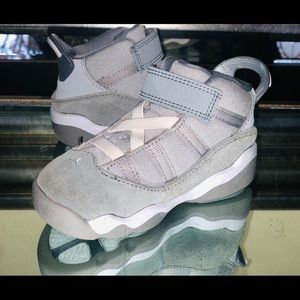 Nike Air Jordan 6 Rings TD Wolf Grey Toddler SZ 7C